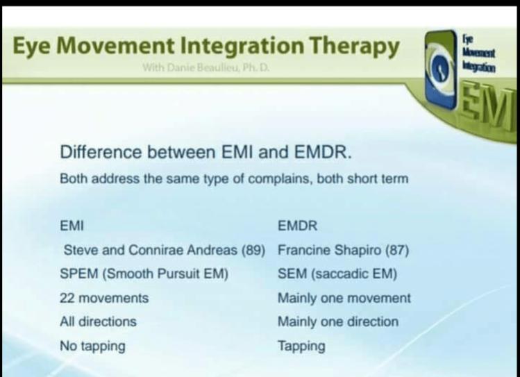 Differneze tra EMI e EMDR
